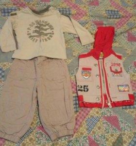 Одежда на мальчика (пакетом)