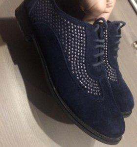 Ботинки-лоферы