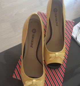 Туфли новые тервалина
