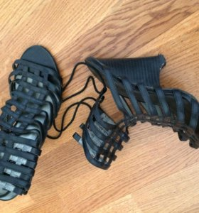 Туфли 37размер, бежевые 38