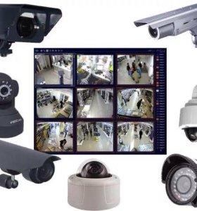 Монтаж и обслуживание видеокамер и видеодомофонов