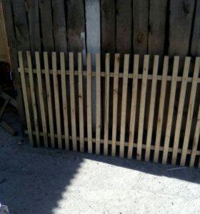 Забор под заказ