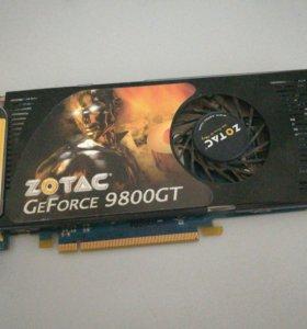 Видеокарта Zotac 9800GT