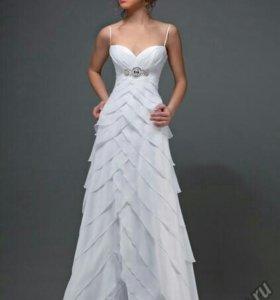 Шикарное!!!! Свадебное платье Тайра новое!!