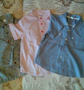 Рубашки на 6 лет