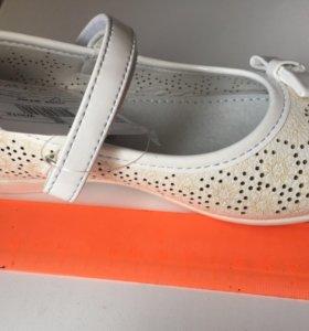 Новые нарядные туфли, 29 р-р