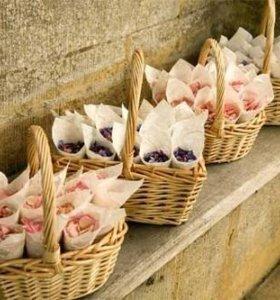 🥀кулечки для лепестков роз