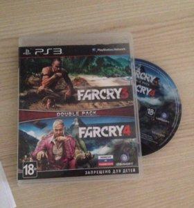 Диск для PS 3 far cry 3 и far cry 4