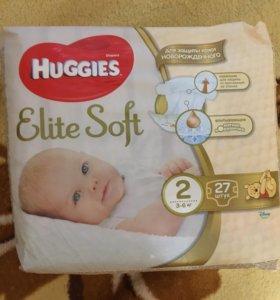 Подгузники Huggies 1 и 2