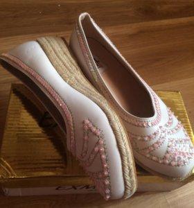 Балетки-туфли детские