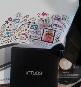 Продам Графический планшет Wacom Intuos Pen&Touch