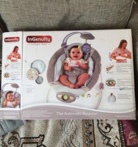 Детское кресло качалка ingenuity