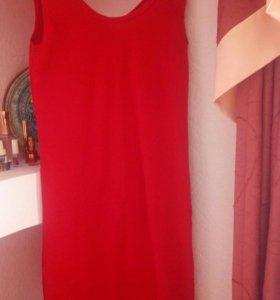 Платье 42-44.хлопок.приталенное.новое