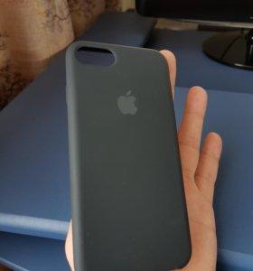 Накладка Apple чёрная для смартфона Apple IPhone 7