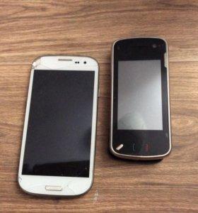 Сотовые телефоны я Samsung , nokia