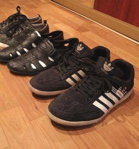 Кеды, кроссовки, сандали