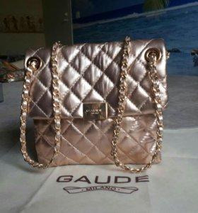 Новая сумочка gaude нат кожа оригинал Италия