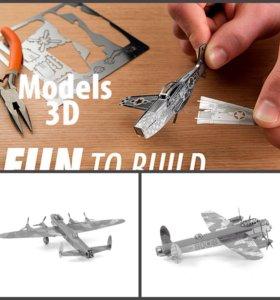 Металлический 3D пазл