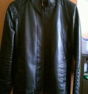 Куртка кожаная мужская 48-50
