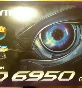 Gigabyte Radeon HD 6950 870Mhz PCI-E 2.1 1024Mb