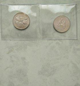 Коллекционные монеты в блистере