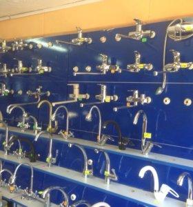 Смесители для ванной, кухонные, душ-системы