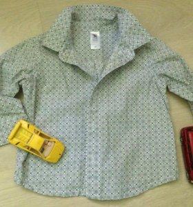 Рубашка р 80 см c&a
