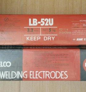 Продам Электроды сварочные LB-52U д=3.2 5кг Япония