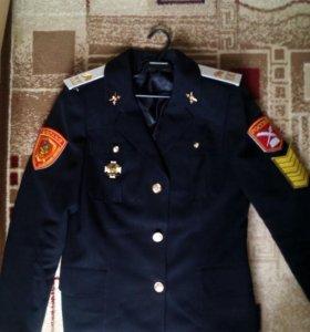 Китель кадетский. 46-48.