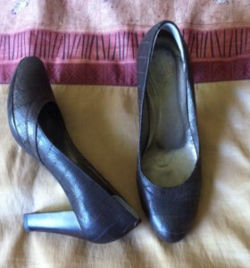 Туфли кожаные р 37