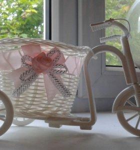Велосипед корзинка