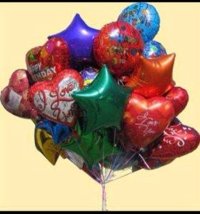 Латексные и фольгированные шары