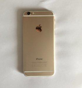 Продаю iPhone 6 (золотой)в отличном состоянии