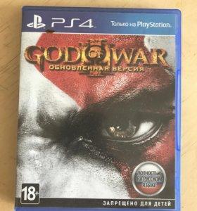 Игра ps 4 God of war 4  ОБМЕН