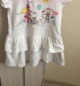 Платье Mothercare до 2 лет