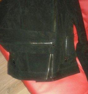 Куртка-косуха (натуральная замша)