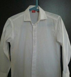 Белая рубашка на мальчика