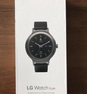 LG Watch style W270 смарт-часы
