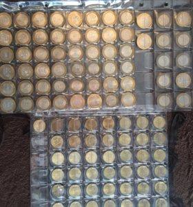 Десятирублёвые монеты
