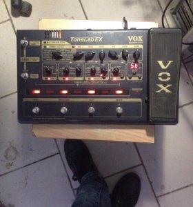 Vox tonelab ex гитарный процессор