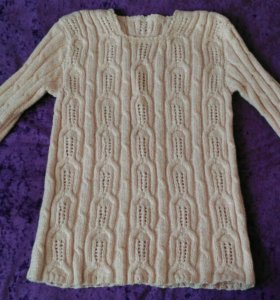 Вязаный пуловер, р.44-46