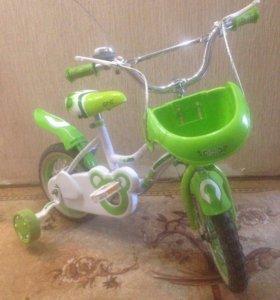 Продам детский мотоцикл и велосипед.