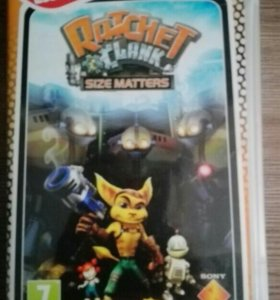 Игра для psp ratchet and clank size matters