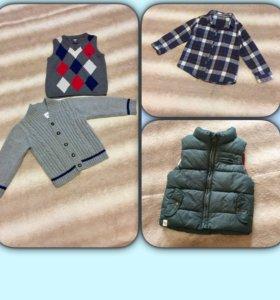 Кофта, рубашка, жилетка, безрукавка