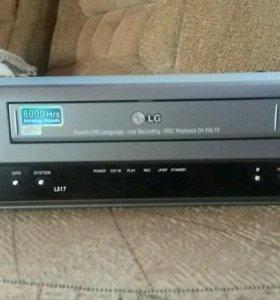 Видик кассетный LG 8000 Hrs