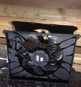 Вентилятор охлаждения радиатора мерседес ML GL164
