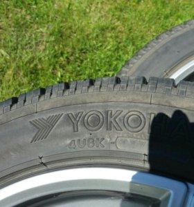 Зимние шины с литыми дисками