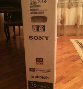 Срочно!!!Телевизо новый сони 4к, смарт-андроид тв,