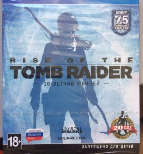 Rise of the tomb rider ps4 новая