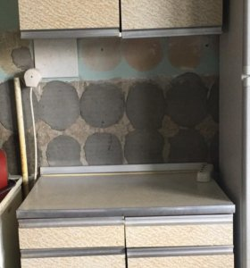 Кухонный шкаф с тумбой